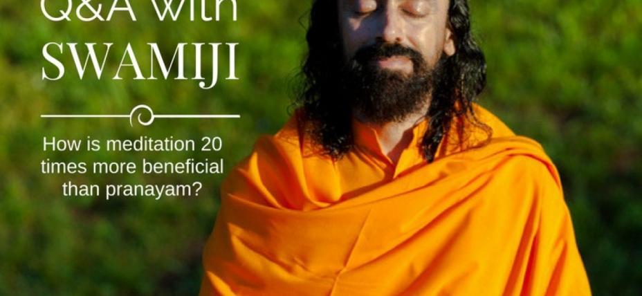 Meditation vs Pranayama