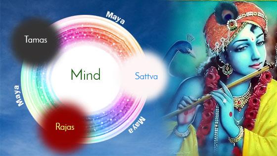 Rise above the three gunas of Maya